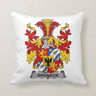 Escudo de la familia de Sponeck Almohadas