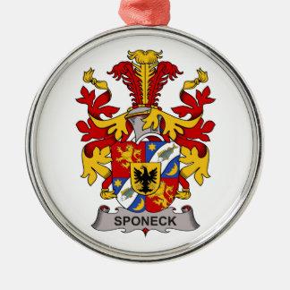Escudo de la familia de Sponeck Adornos