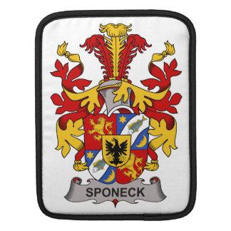 Escudo de la familia de Sponeck Mangas De iPad
