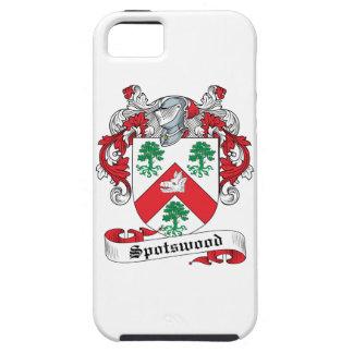 Escudo de la familia de Spotswood iPhone 5 Carcasas