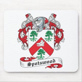 Escudo de la familia de Spotswood Mousepads