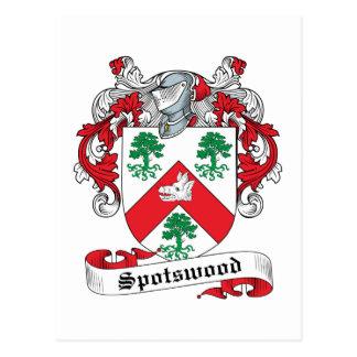 Escudo de la familia de Spotswood Postal