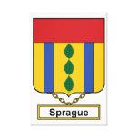 Escudo de la familia de Sprague