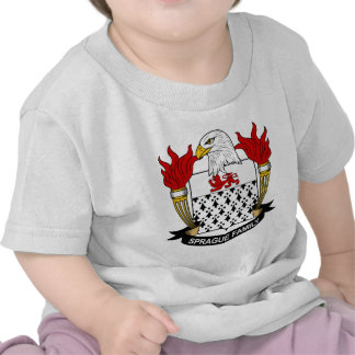 Escudo de la familia de Sprague Camiseta