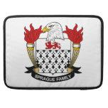 Escudo de la familia de Sprague Funda Para Macbook Pro