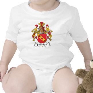 Escudo de la familia de Sprengel Trajes De Bebé