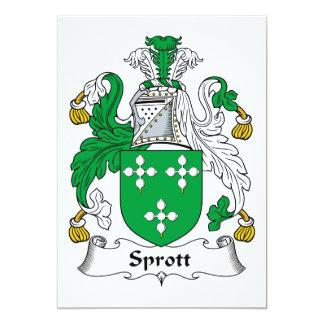 Escudo de la familia de Sprott