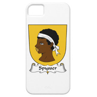 Escudo de la familia de Spysser iPhone 5 Carcasa