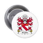 Escudo de la familia de St John Pins