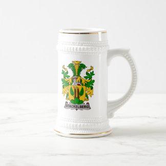 Escudo de la familia de Stackelberg Taza De Café