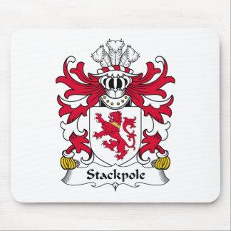 Escudo de la familia de Stackpole Alfombrillas De Raton