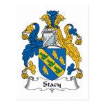 Escudo de la familia de Stacy Postales