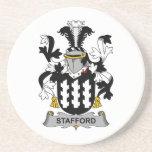 Escudo de la familia de Stafford Posavasos Personalizados