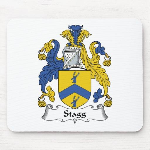 Escudo de la familia de Stagg Alfombrilla De Ratones