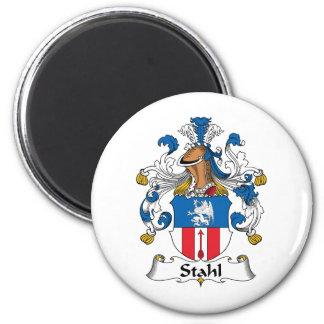 Escudo de la familia de Stahl Imán Redondo 5 Cm
