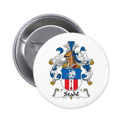 Escudo de la familia de Stahl Pins