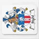 Escudo de la familia de Stahl Alfombrillas De Ratón