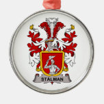 Escudo de la familia de Stalman Ornaments Para Arbol De Navidad