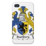 Escudo de la familia de Stanbury iPhone 4/4S Funda