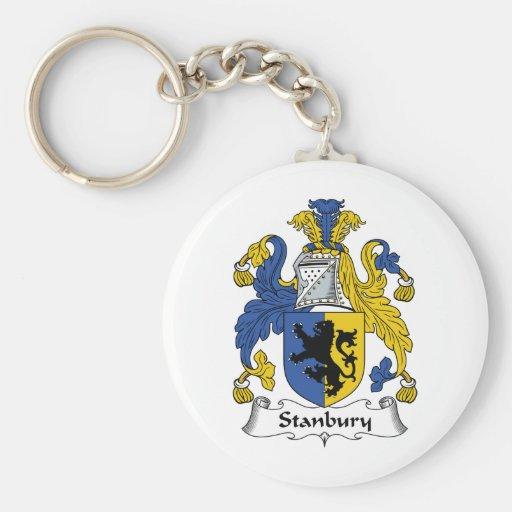 Escudo de la familia de Stanbury Llaveros