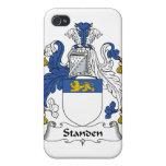 Escudo de la familia de Standen iPhone 4/4S Fundas