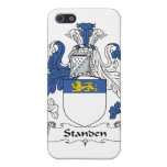 Escudo de la familia de Standen iPhone 5 Carcasas