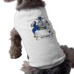 Escudo de la familia de Standen Camiseta De Perrito