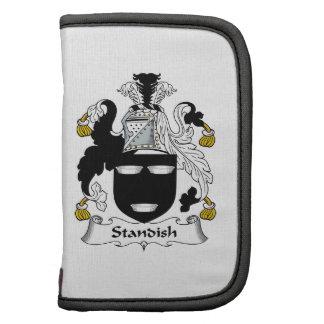 Escudo de la familia de Standish Organizador