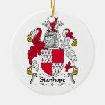 Escudo de la familia de Stanhope Ornamentos De Reyes