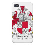 Escudo de la familia de Stanhope iPhone 4 Cobertura