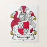 Escudo de la familia de Stanhope Puzzle Con Fotos
