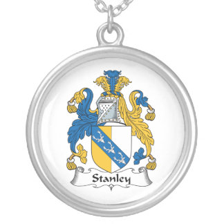 Escudo de la familia de Stanley Pendientes