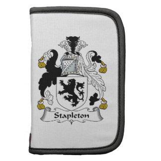 Escudo de la familia de Stapleton Organizadores