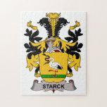 Escudo de la familia de Starck Puzzle Con Fotos