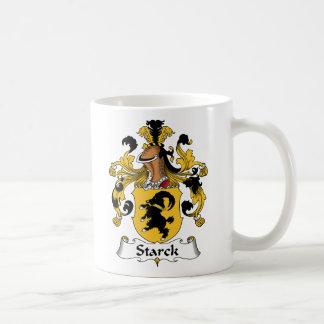 Escudo de la familia de Starck Taza Básica Blanca