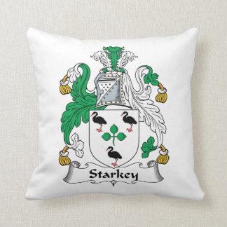 Escudo de la familia de Starkey Cojines