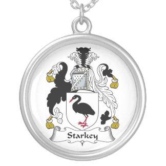 Escudo de la familia de Starkey Colgante Redondo