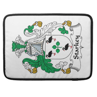 Escudo de la familia de Starkey Fundas Macbook Pro