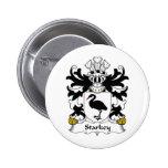 Escudo de la familia de Starkey Pins