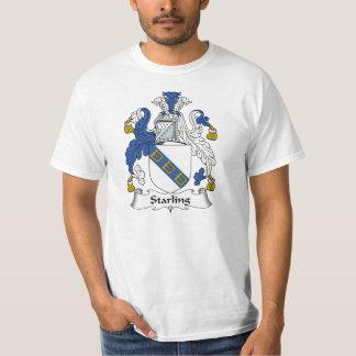 Escudo de la familia de Starling Camisas