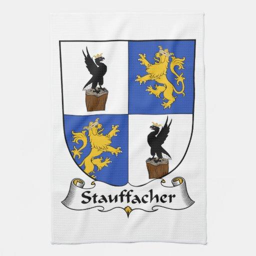 Escudo de la familia de Stauffacher Toallas De Mano