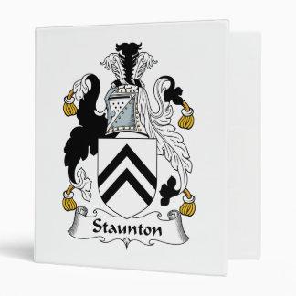 Escudo de la familia de Staunton