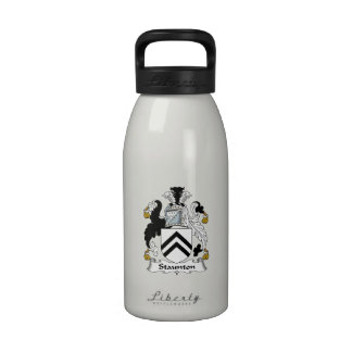 Escudo de la familia de Staunton Botellas De Agua Reutilizables