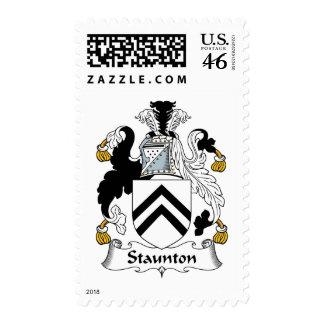 Escudo de la familia de Staunton Envio