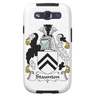 Escudo de la familia de Staunton Galaxy S3 Cárcasa