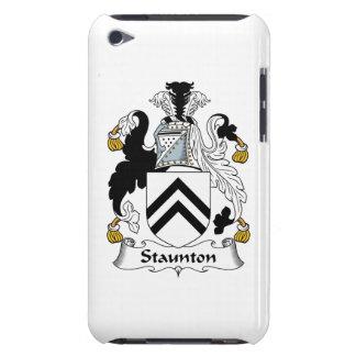 Escudo de la familia de Staunton iPod Touch Fundas