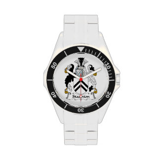 Escudo de la familia de Staunton Relojes De Mano