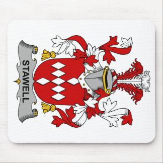 Escudo de la familia de Stawell Tapetes De Raton