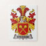 Escudo de la familia de Stedingk Puzzle Con Fotos