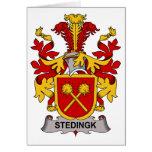 Escudo de la familia de Stedingk Tarjetas